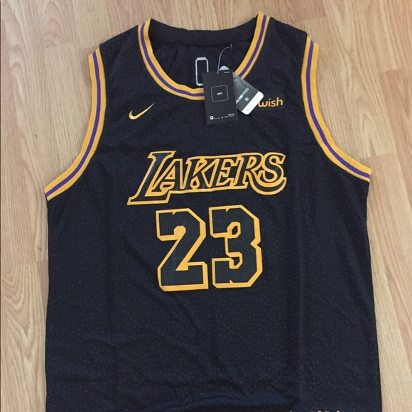 d28297e5eb0 Shirts | New Nike Lebron James Nba La Lakers Jersey | Poshmark